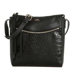 Vince Camuto black Taj leather crossbody bag